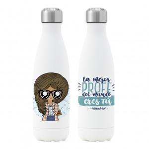 Botella termo Profesora