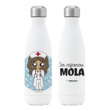 Botella termo Enfermera