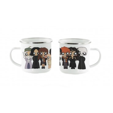 Taza metal Harry Potter
