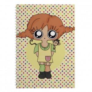 Cuaderno Pippi Calzaslargas