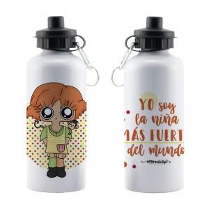 Botella aluminio Pippi Calzaslargas