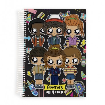 Cuaderno Stranger Things